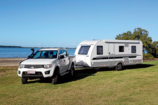 Top caravan security devices