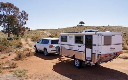 This 14ft pop-top caravan is the first such model from Bushtracker.