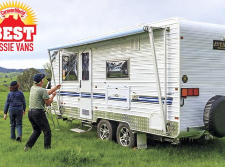 Evernew E900 Series caravan