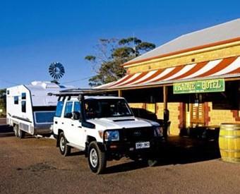 Caravan rest stops