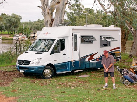 "The Wirraway Motor Homes 260SL. The ""SL"" stands for ""slide out""."
