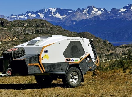 This Track Trailer Tvan Murranji did over 80,000km across the Americas.