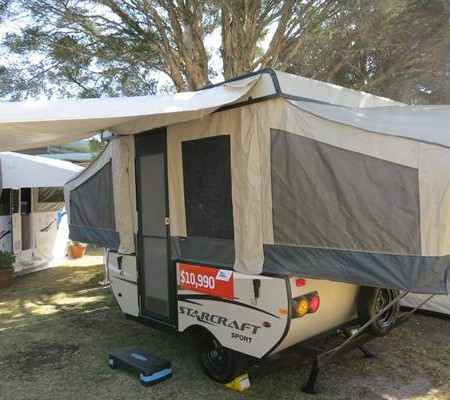 The new Jayco J8 wind-up camper