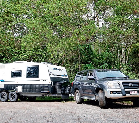 Caravan towing licenses