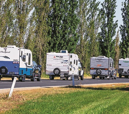 For the fourth year running, up to 16 of the country's best new caravans will be join us, to vie for