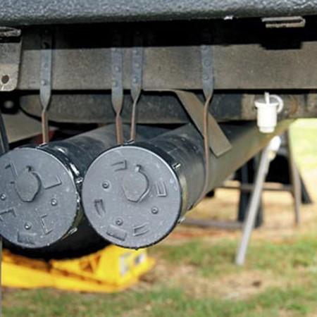 Tips for more storage on a camper trailer.
