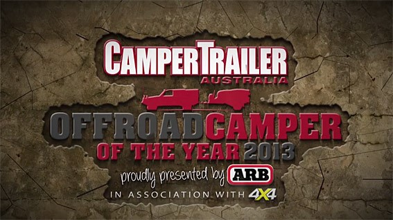 Who will win the coveted title of Offroad Camper Of The Year 2013? Find out in Camper Trailer Austra