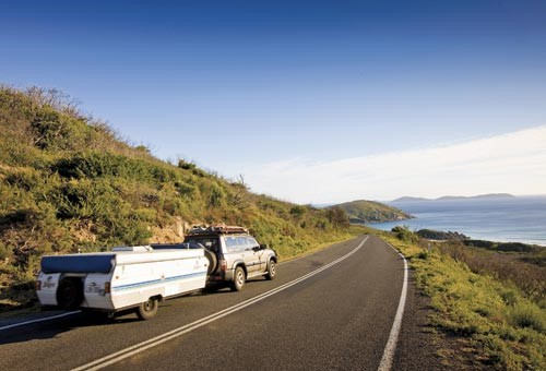 Getting to Wilsons Prom is easy. It's just two hours drive from Melbourne.