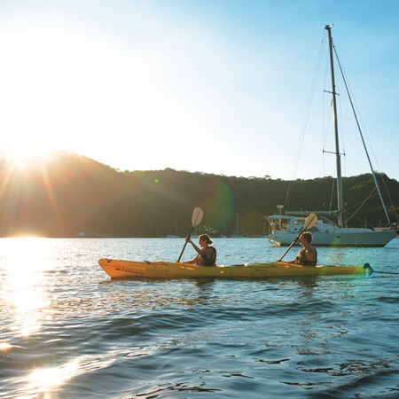 On the other side of the Palm Beach peninsula, the harbour known as Pittwater has so much to offer a