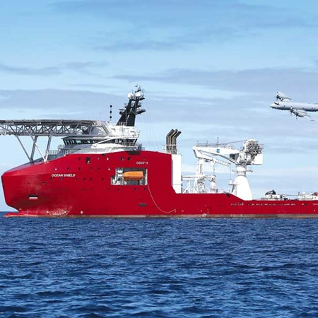 Although it's owned by the Australian Defence Force, ADV Ocean Protector is operated using Australia