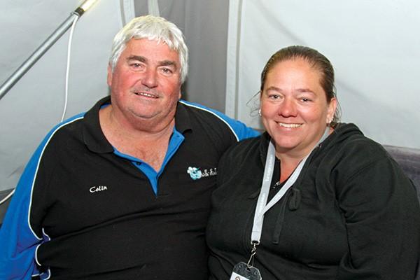 Colin and Natali Hopgood