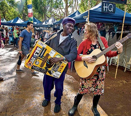 The Fairbridge Festival in Perth will have almost 100 acts on show.