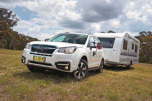 Subaru Forester 2 0D-L Tow Test and Review | News & Reviews