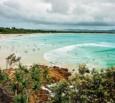 Clarkes Beach, Byron Bay