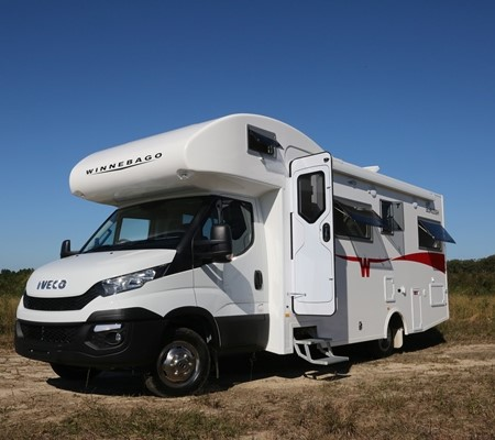 The Winnebago Burleigh is a new, all-Aussie-built motorhome.
