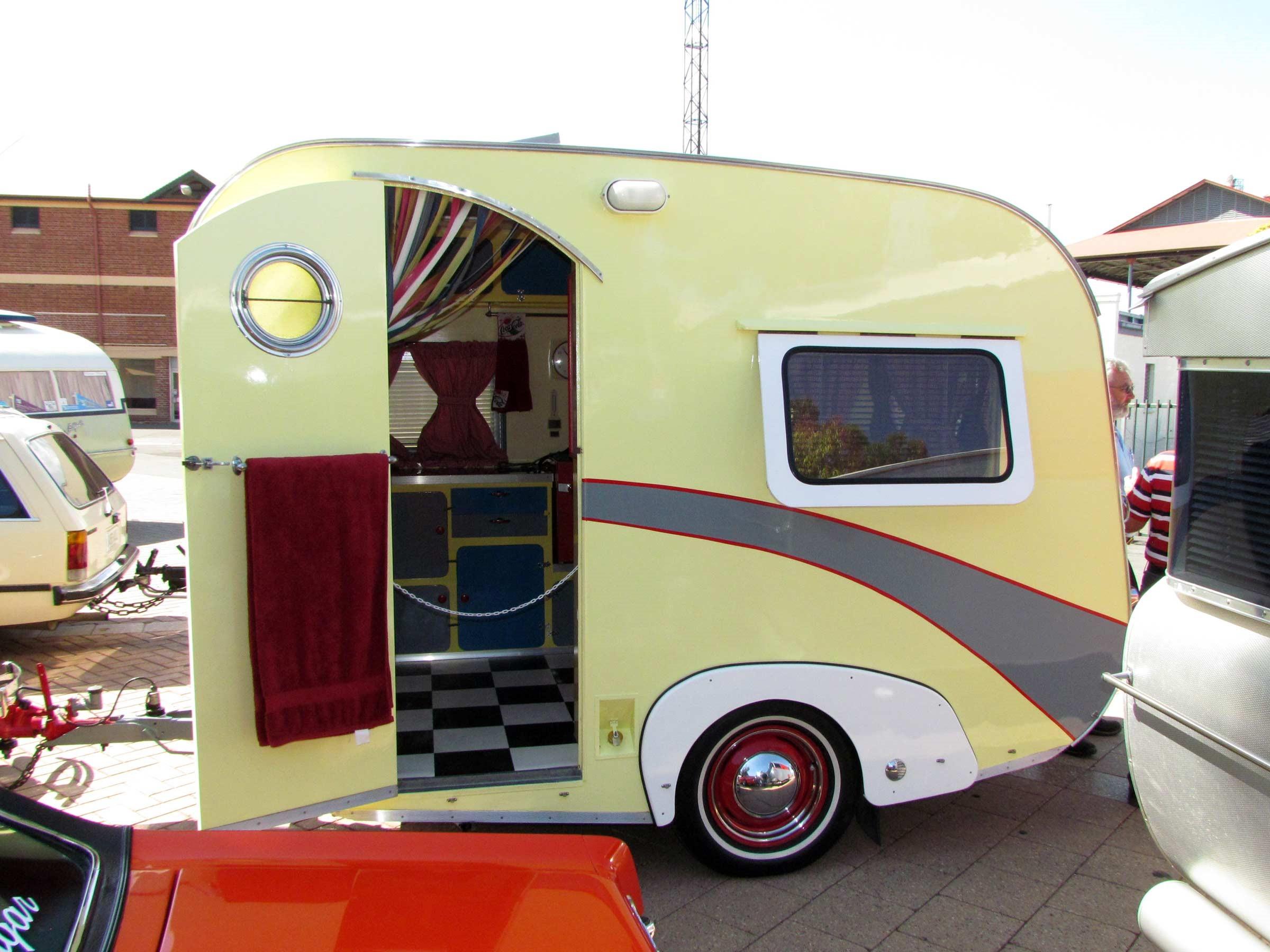 The 1950s homebuilt caravan