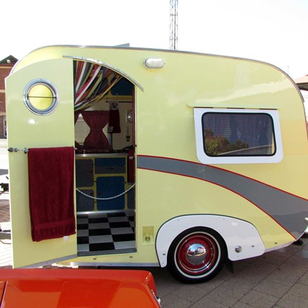 The 1950s homebuilt caravan