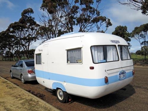 Vintage caravans from Caravan World readers