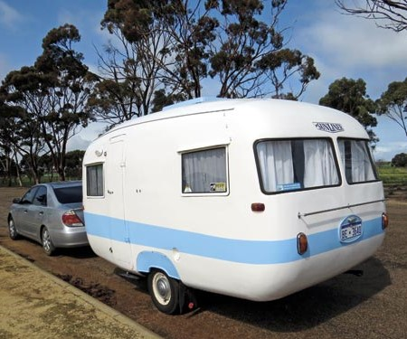 Vintage caravans from Caravan World readers
