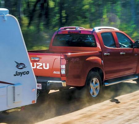 Isuzu D-Max LS-Terrain Crew Cab