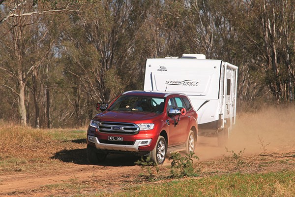 Ford Everest Titanium Tow Test
