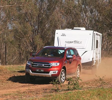 Ford Everest Titanium Tow Test