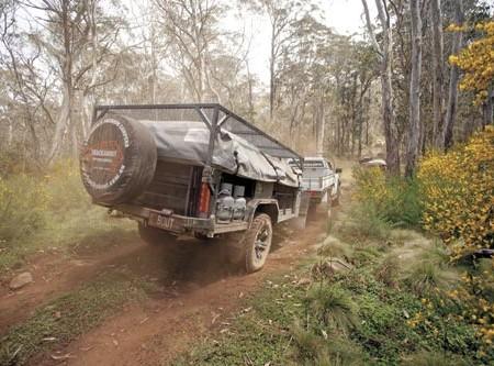 The Safari XV Extenda is one tough camper.