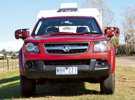 Tow test: Holden Colorado