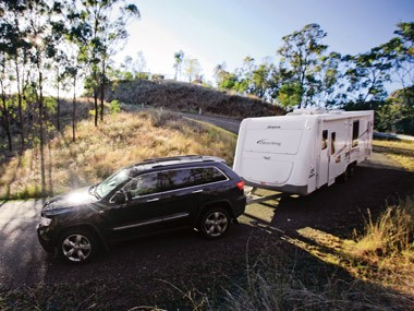 Tow test: Jeep Grand Cherokee Limited V8