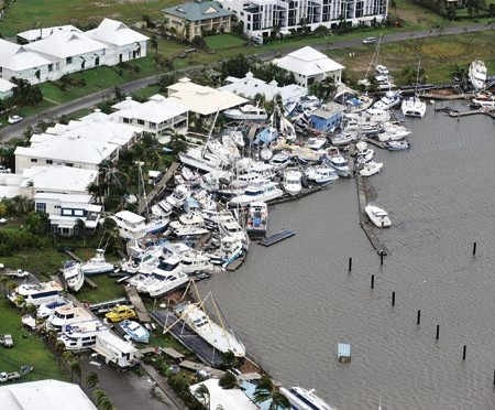 CYCLONE YASI —$6.5m in insurance claims from Port Hinchinbrook