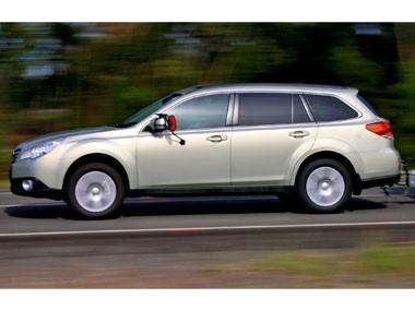Tow test: Subaru Outback 3.6R Premium