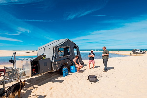 Guide to beach camping