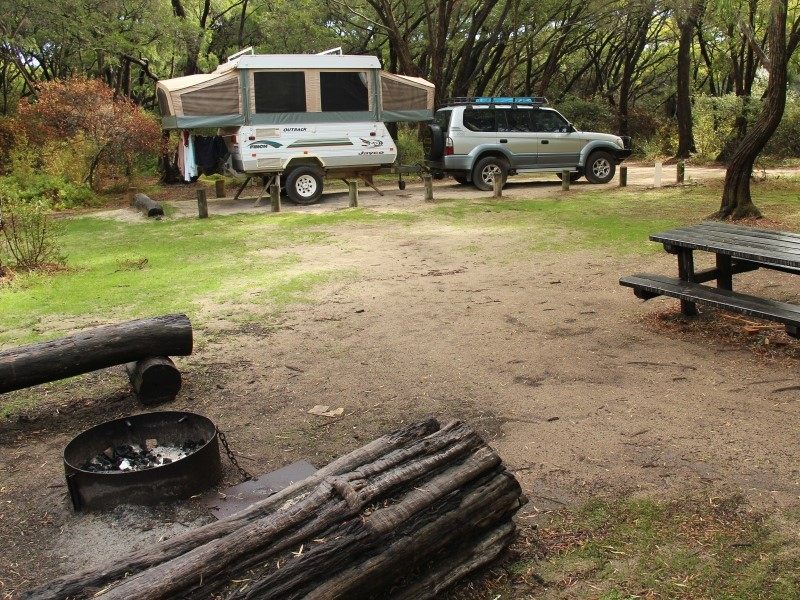 Conto Campground is within Leeuwin-Natrualiste NP, the state's most visited National Park.
