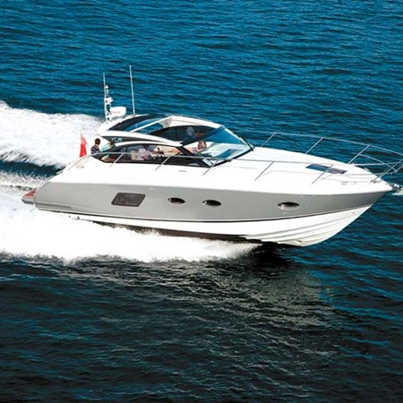 Princess V39 luxury motor yacht.