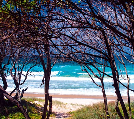 Fingal Head beach