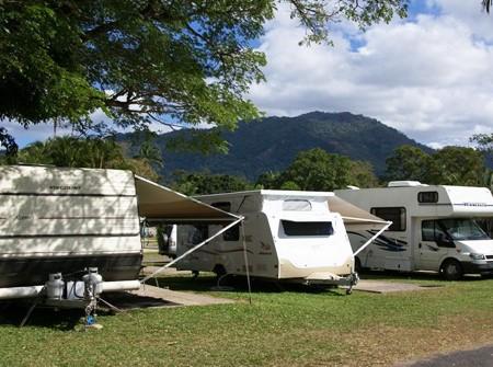 Van parks geared toward grey nomads