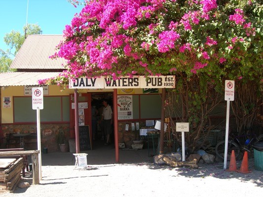 The iconic Daly Waters Pub is up for sale.