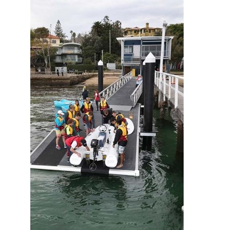 The new Boating Safety Education Centre at Watsons Bay will teach all kinds of boating skills.