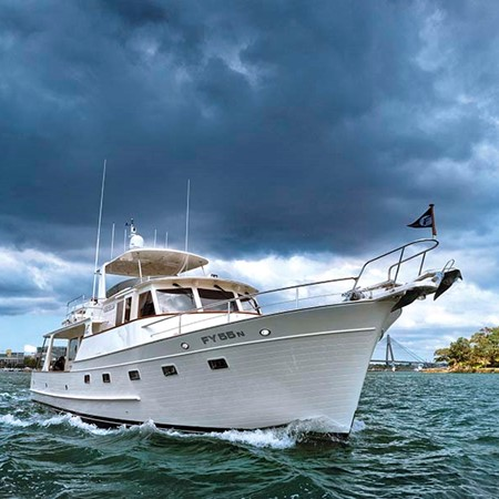 Fleming 55 Pilothouse Motoryacht