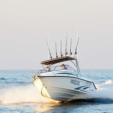 Whittley SL 22 boat