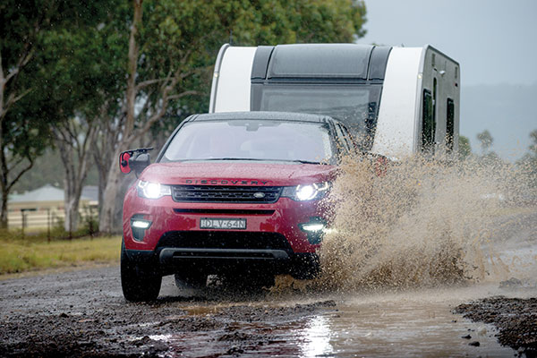 Land Rover Discovery Sport Se Td4 Tow Test