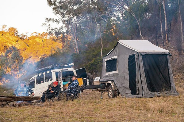 For pure simplicity under canvas, hard floor campers steal the show!