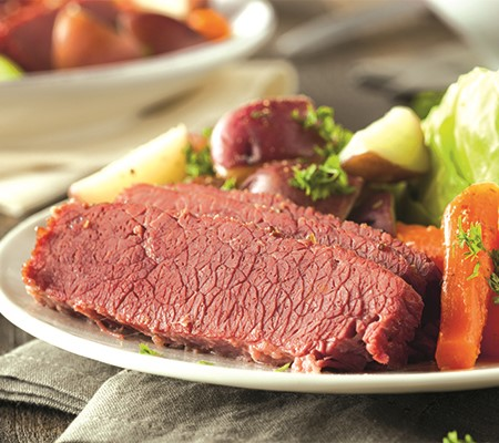 Nothing beats a hearty corned beef meal!