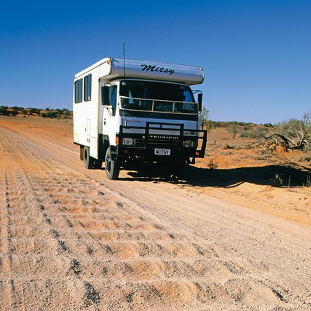 Corrugations can be found on outback roads, bitumen and concrete, beaches and sandy inland tracks.