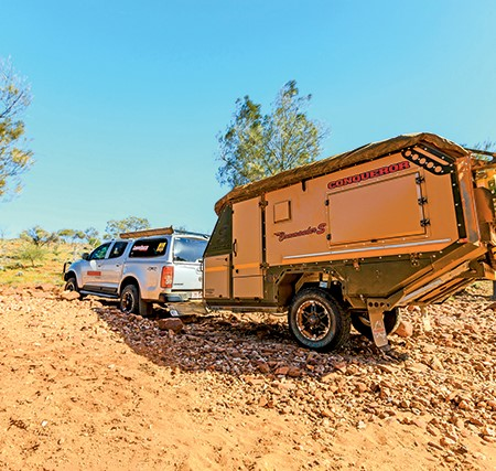 The Conqueror Commander S is a sturdy and well-appointed camper