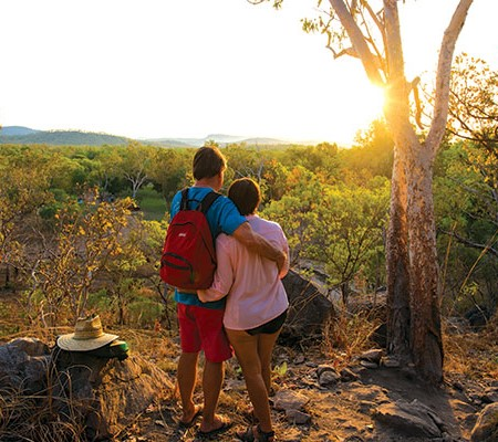 Couple in Kakadu NT
