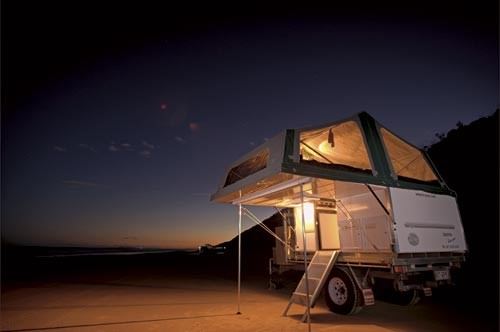 The Trayon Dual Cab camper.
