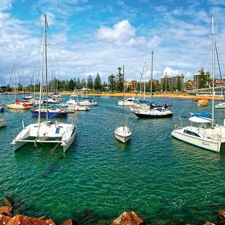 The historic harbour of Wollongong is well worth a visit