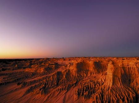 Mungo National Park. The imagination is in overdrive as you envisage this arid stretch of desert as