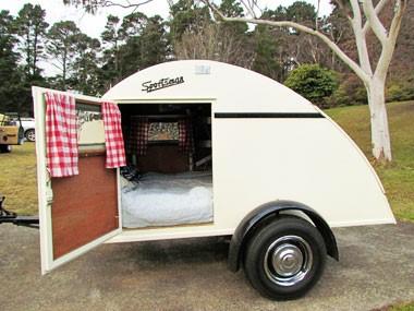 Vintage vans: 1950s Sportsman teardrop